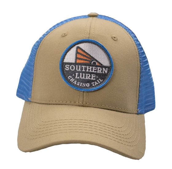 Trucker - Chasing Tail - Tan/Blue