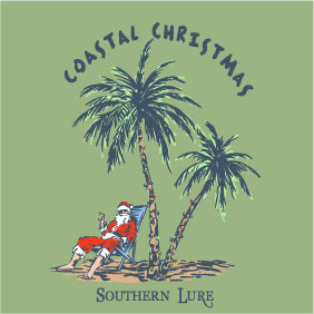 Youth - SS Tee - Coastal Christmas - Sea Bay