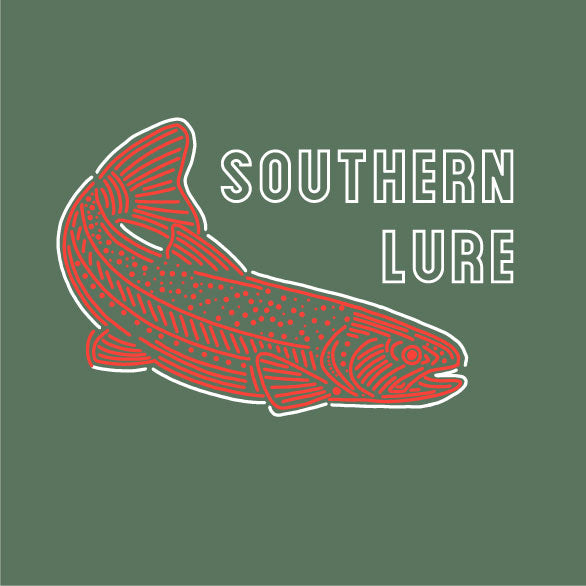 Youth & Toddler - Long Sleeve Tee - Aztec Trout - Oak Green