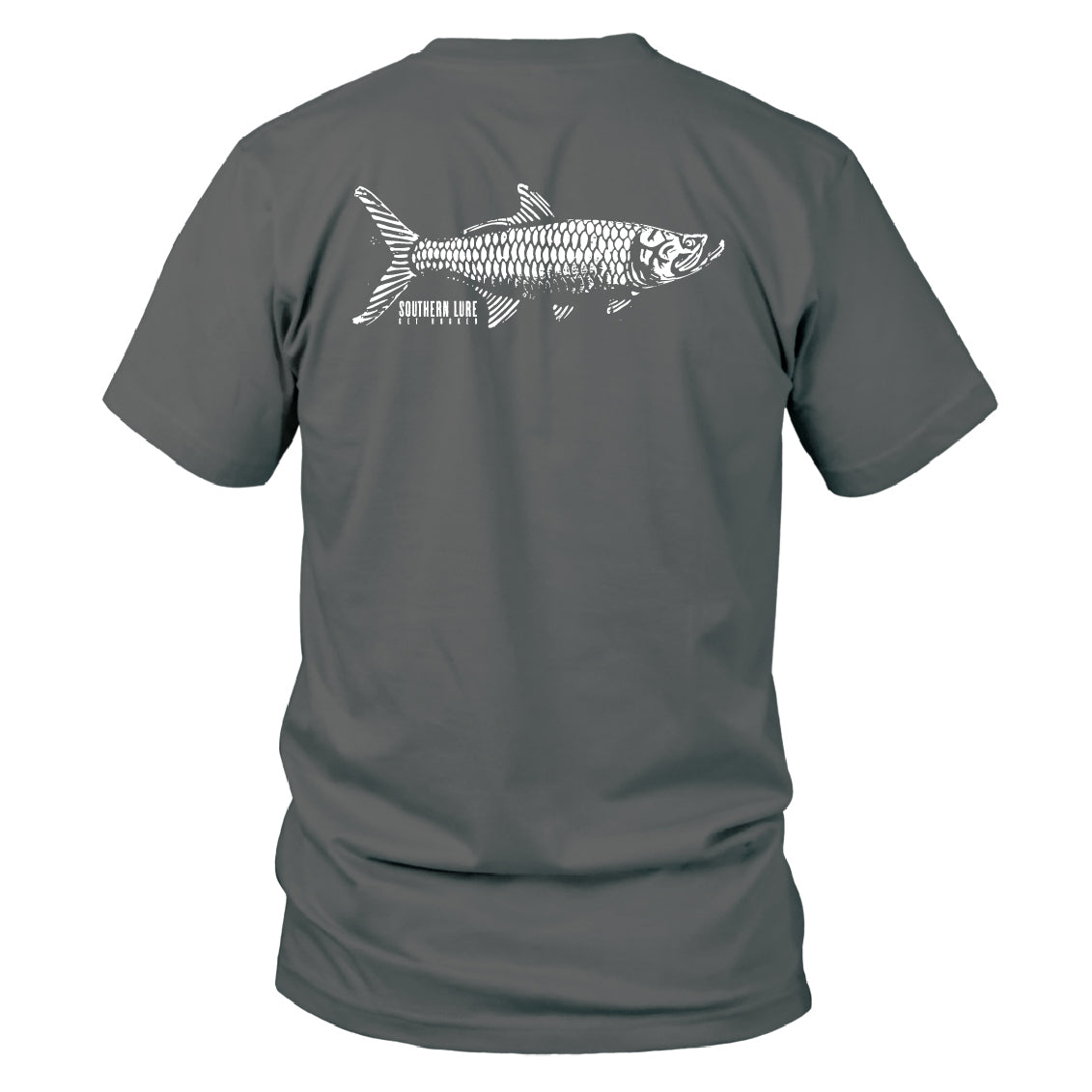 SS Tee - Ink Blot Fish - Pepper