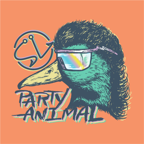 SS Tee - Party Animal - Melon