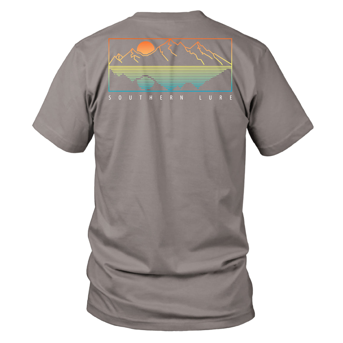 Youth - SS Tee - Minimal Mtns - Granite