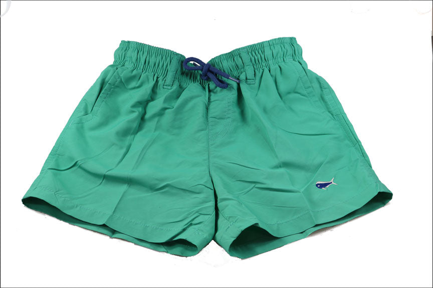 Youth Swim Trunks - Mint