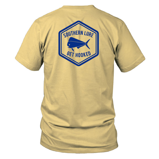 Youth - SS Tee - Octagon - Yellow