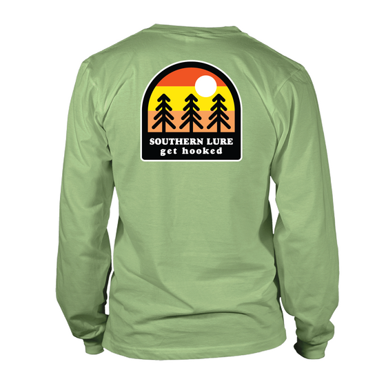 Youth & Toddler  Long Sleeve Tee - Tree Patch - Bay