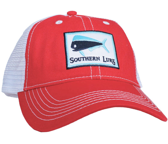 Trucker Hat - Red & White