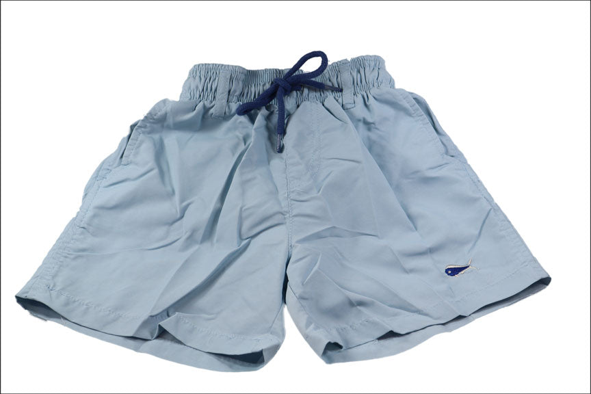 Youth Swim Trunks - Sky Blue