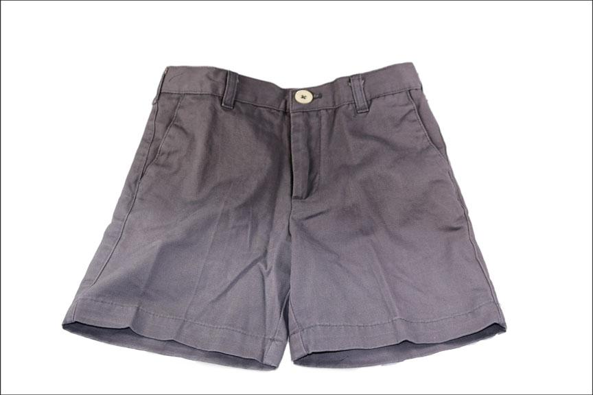 Youth Twill Shorts - Slate