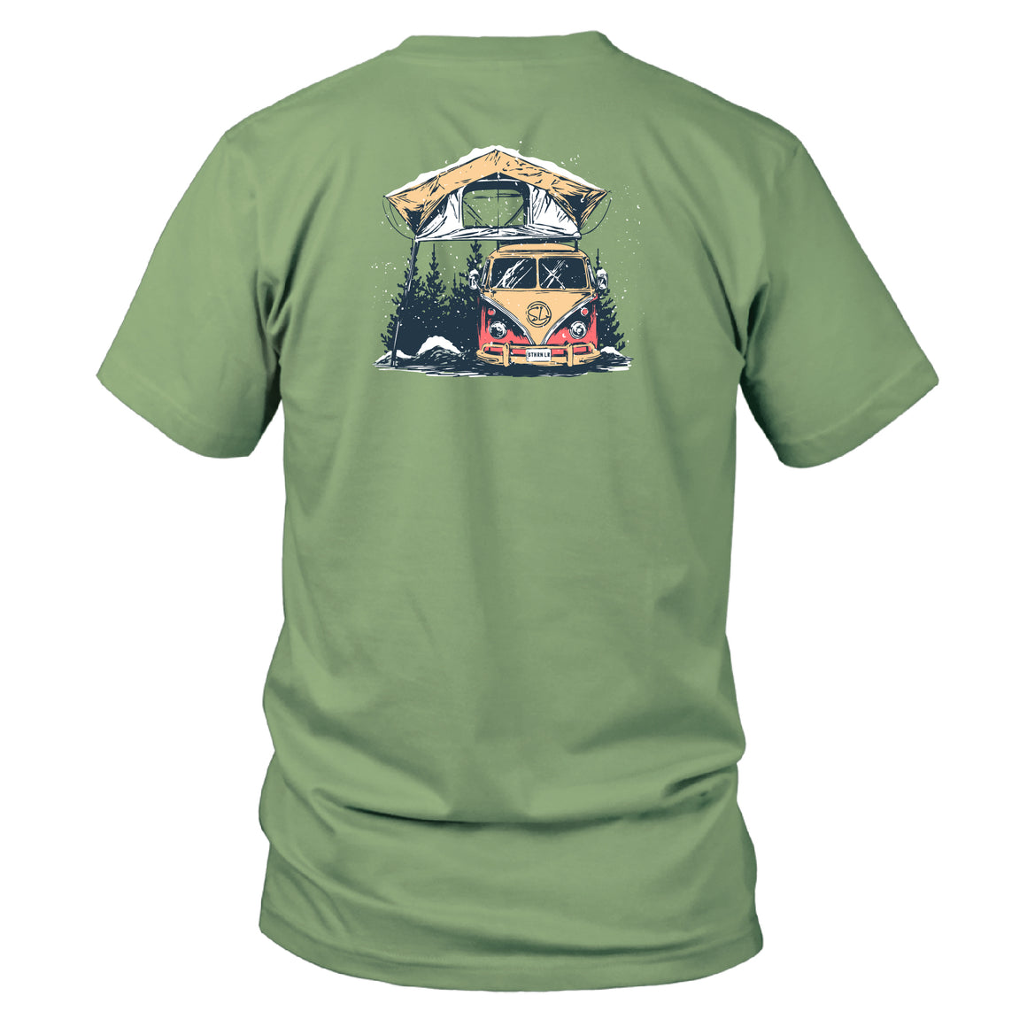 Youth & Toddler - Short Sleeve Tee - VW Camper - Bay
