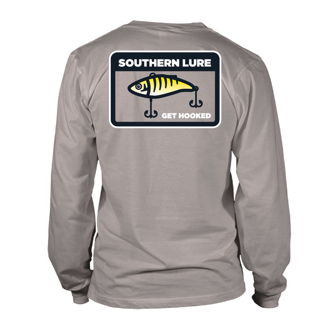 Youth  - Long Sleeve Tee - Crank Bait - Granite