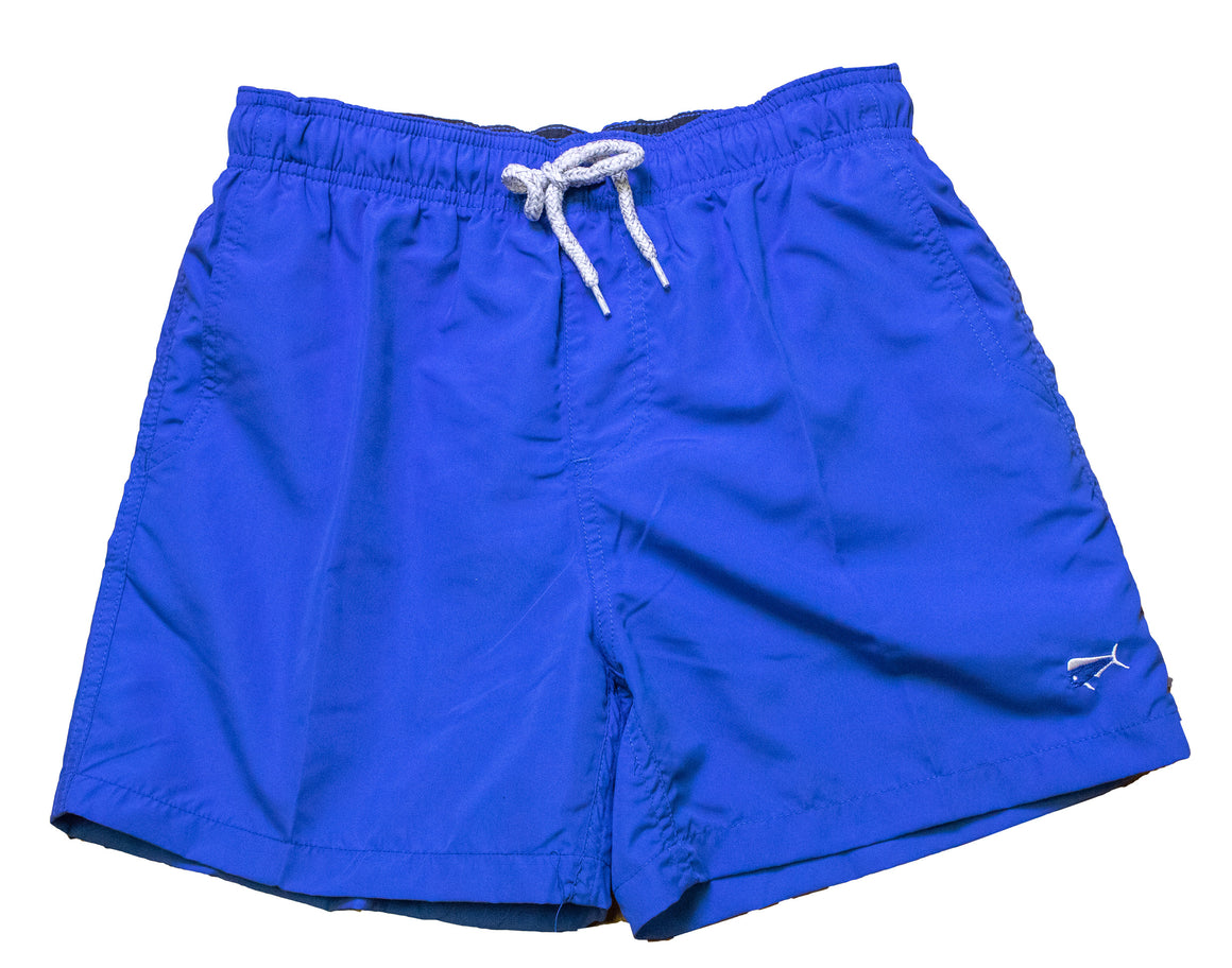 Youth & Toddler - Swim Trunks - Ocean Blue