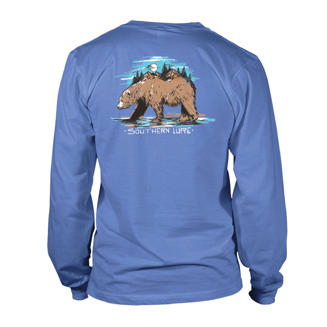 Youth & Toddler - Long Sleeve Tee - Brown Bear - Dusk