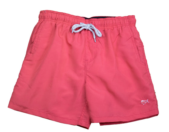 Youth & Toddler - Swim Trunks - Rose Coral