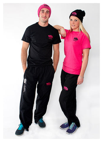 Black Canterbury Tracksuit Bottoms