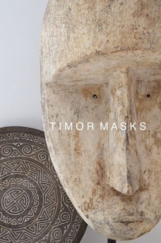 Timor Mask from Indonesia