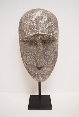 Huge Timor Mask Sculpture Contemporary