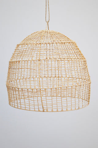 Moroccan Rattan Pendant Crochet Light-shade