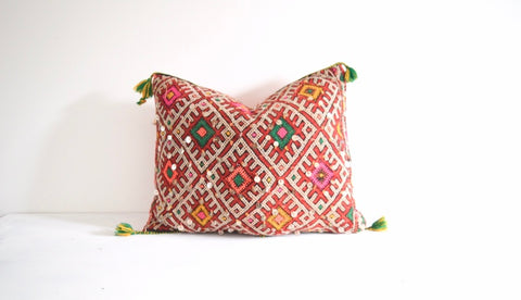 Vintage Moroccan Berber Pillow Cushion Cover