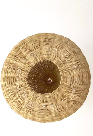 Moroccan Natural Rattan Lampshade Pendant Light