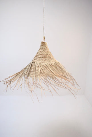 Moroccan Rattan Palm Suspension Lamp Shade