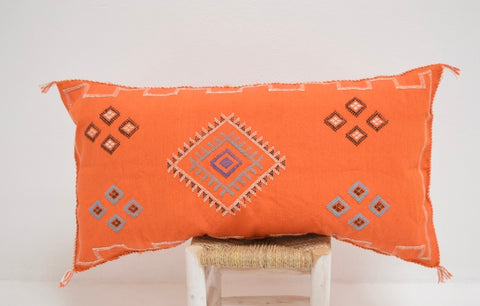 Moroccan XXL Cactus Sabra Silk Cushion Cover