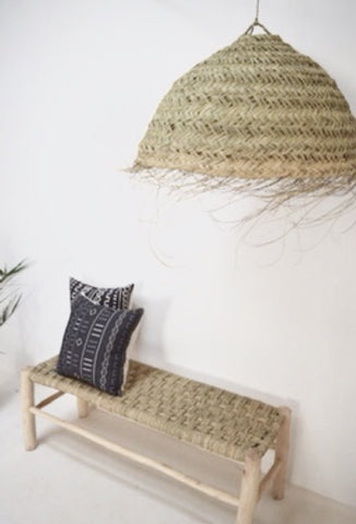 Essaouira Moroccan Natural Rattan Lampshade  Light