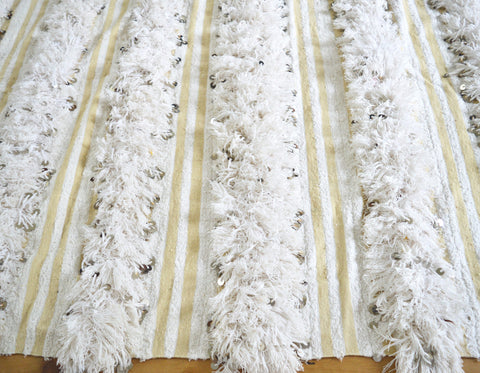 Vintage Moroccan Wedding Blanket Throw