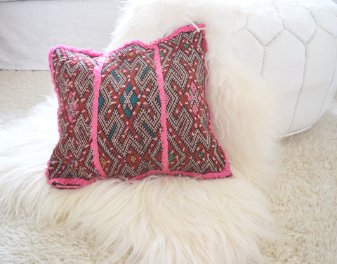 Berber pillow Vintage Moroccan Pillow