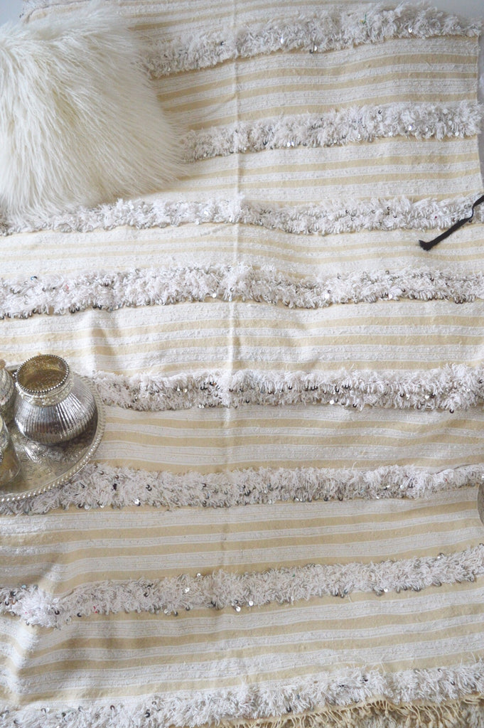 Moroccan Wedding Blanket Throw
