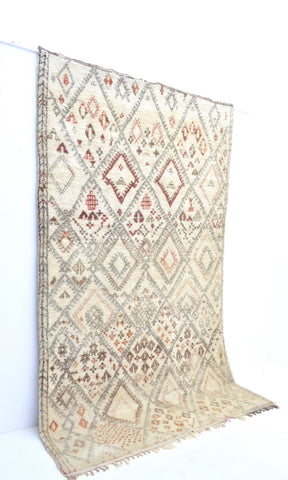 SOLD Vintage Beni Ourain Rug