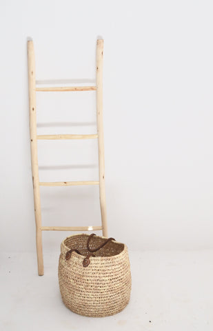 Moroccan Lemon Tree Wood Ladder Medium