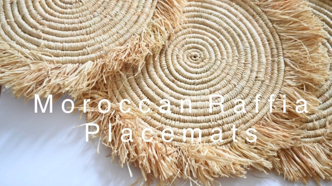 Moroccan Rattan Placemats