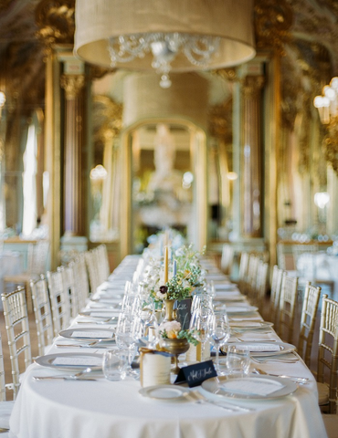florence italy destination wedding tablescape