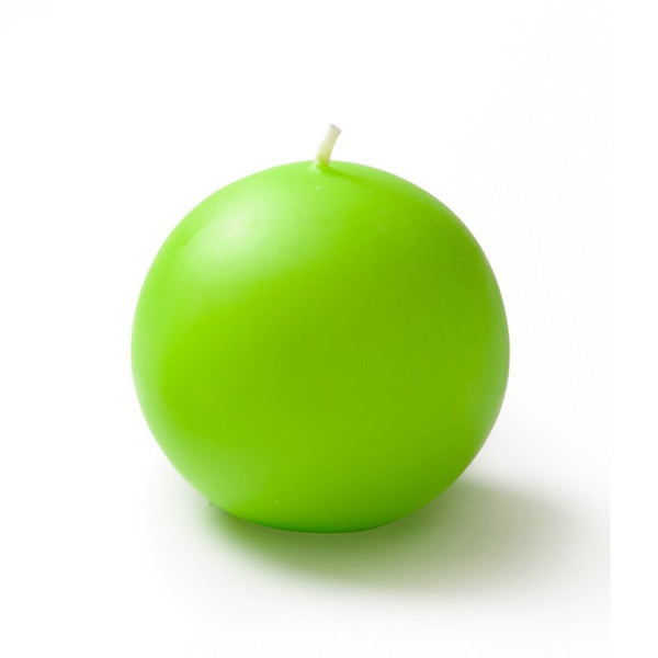 "Ball Candle XL 4"" - 1 piece"