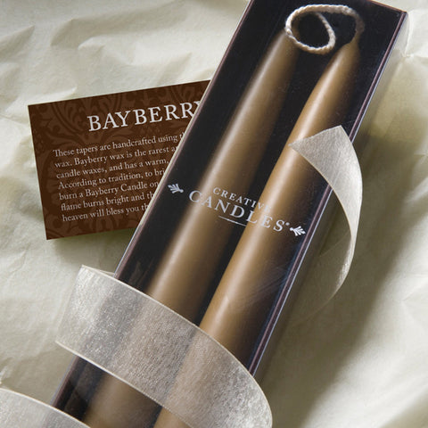 Bayberry Taper Candles 9