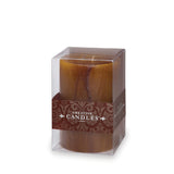 "Tuscan Hurricane Pillar Candle 3.5"" x 5"""