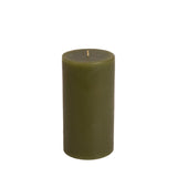 "Classic Hurricane Pillar Candle 3"" x 6"""