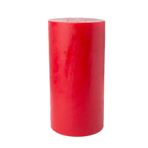 3-Wick Hurricane Pillar Candle 6