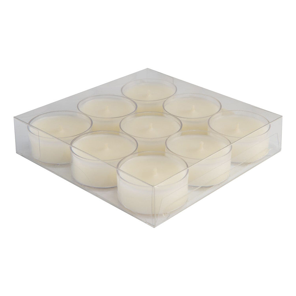 Ivory Tealights - 9/box