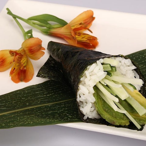 Avocado Cucumber Hand Roll