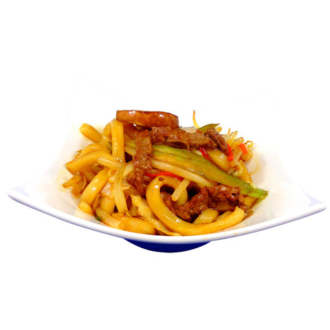 Beef Fried Udon