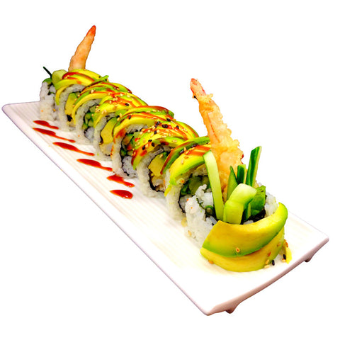 Green Dragon Sushi Roll