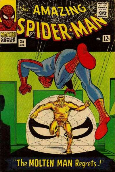 Amazing Spiderman #35 (1966)