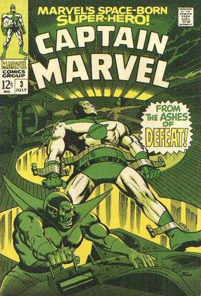 Captain Marvel #3 (1968)