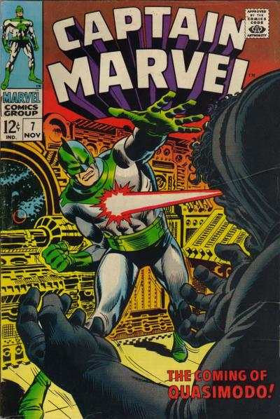 Captain Marvel #7 (1968)