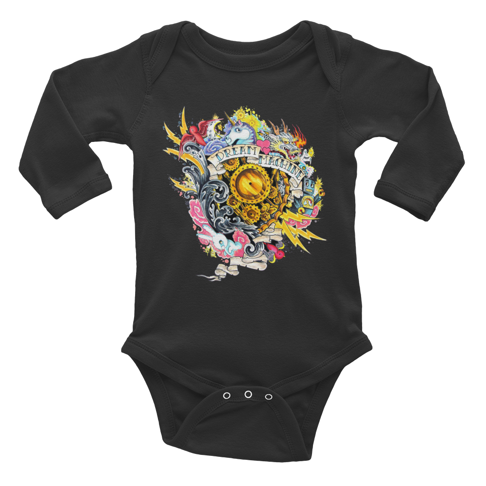 Dream Machine - Infant Long Sleeve Bodysuit