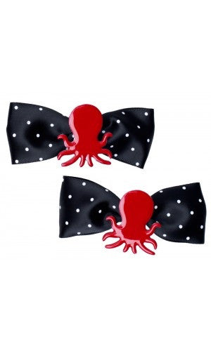 ❤️ OCTOPUS hair bows