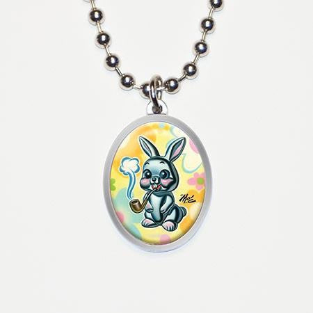 ❤️ SMOKIN' BUNNY necklace