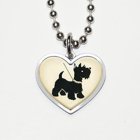 SCOTTY DOG necklace
