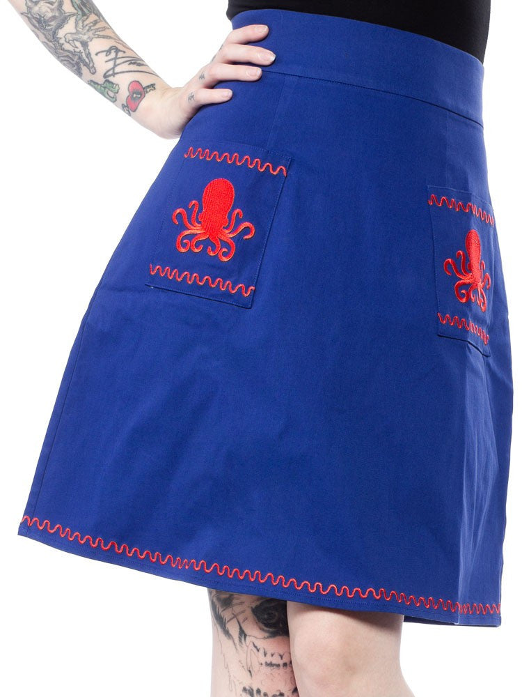 Octopus Suzie skirt
